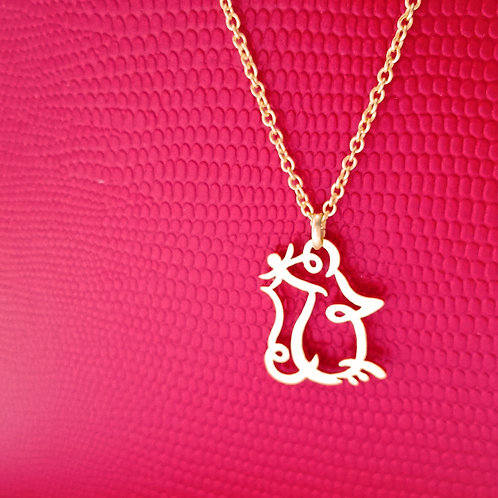 MOUSE in Hiragana pendant