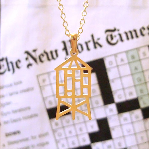 Water tower pendant