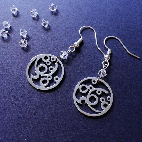 BUBBLE in Arabic earring