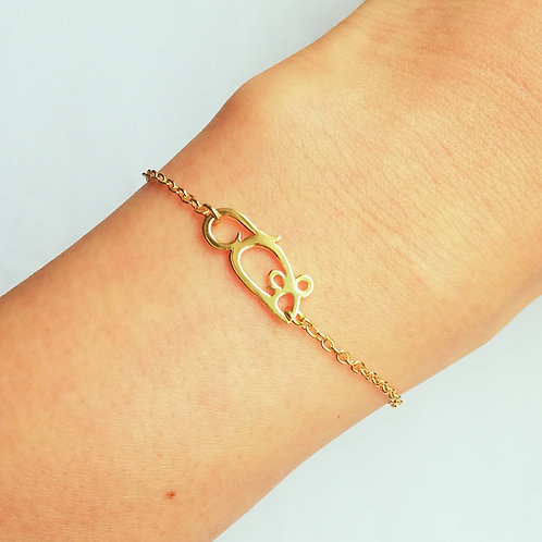 MOUSE in Arabic bracelet