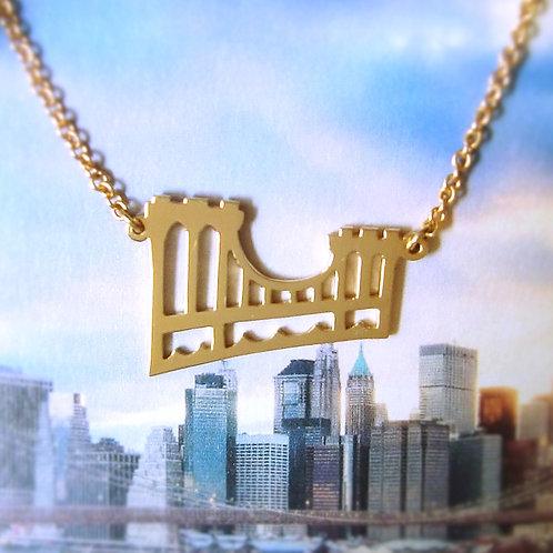 Brooklyn Bridge pendant