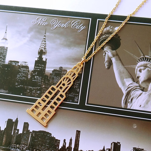 Chrysler building pendant