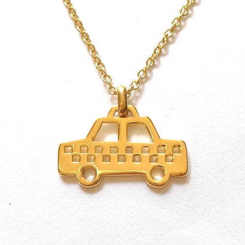 Yellow cab pendant