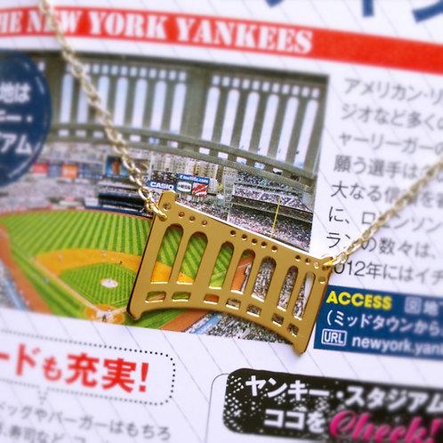 New York Yankee Stadium facade pendant