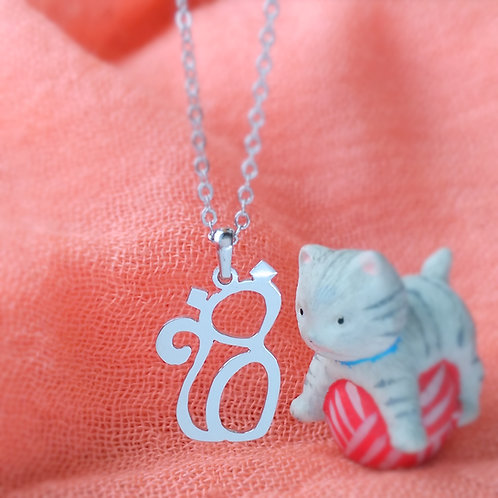 CAT in Arabic pendant