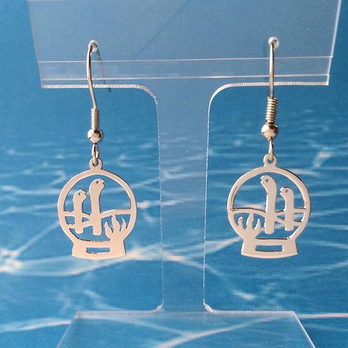 Garden eel earring