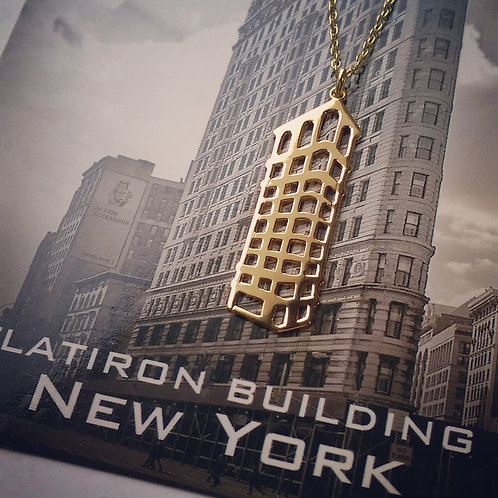 Flatiron building pendant