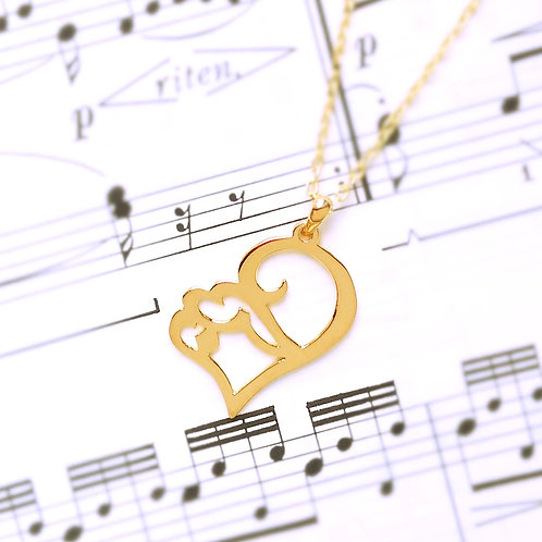 LOVE in Arabic pendant