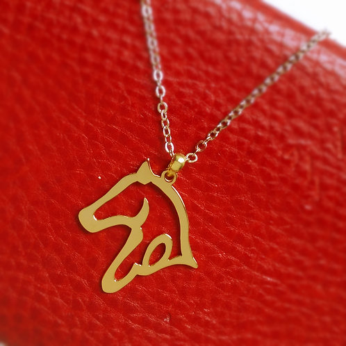 HORSE in Arabic pendant