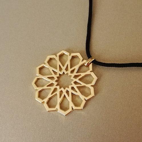 Islamic geometric pattern pendant