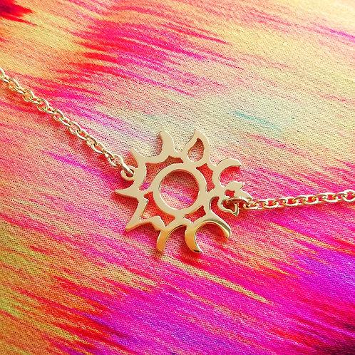 SUN in Arabic bracelet