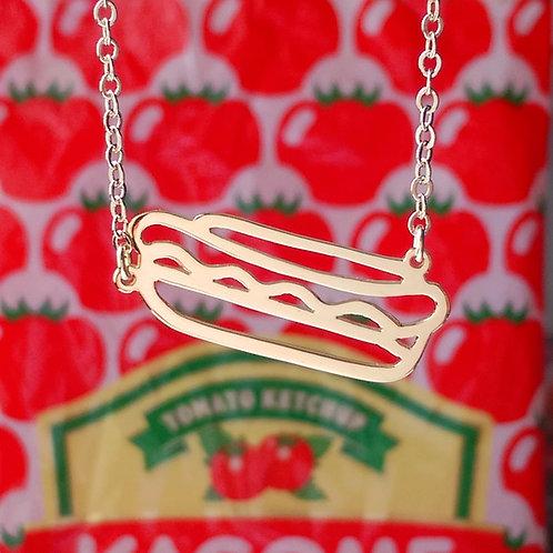 Hot dog pendant