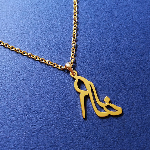SHOE in Arabic pendant
