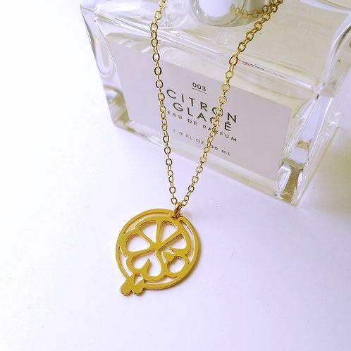 LEMON in Arabic pendant