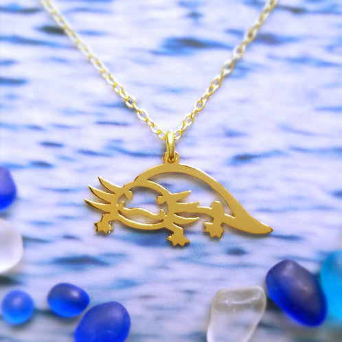 Axolotl pendant