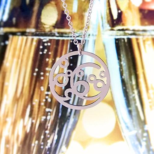 BUBBLE in Arabic pendant