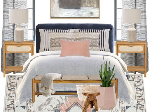 Shop the Look: Blushing Boho Bedroom