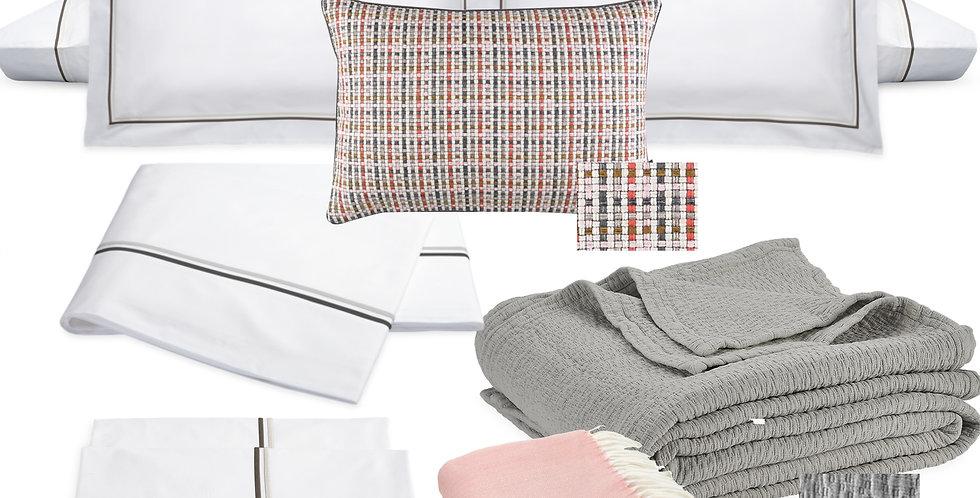 Organic Modern - Charcoal & Blush