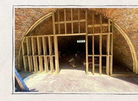 Week 8: We've started building!!