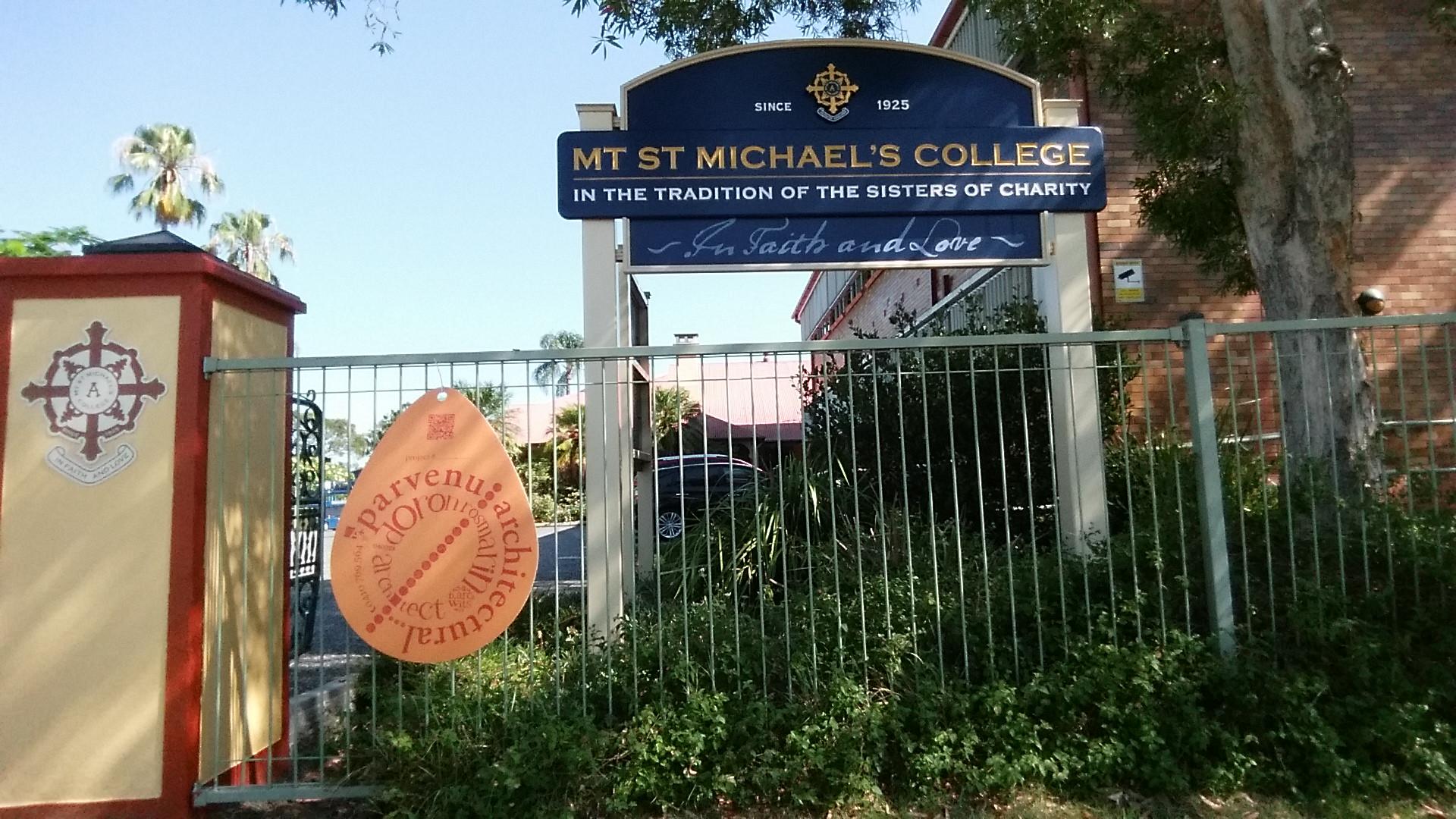 mt st michaels college