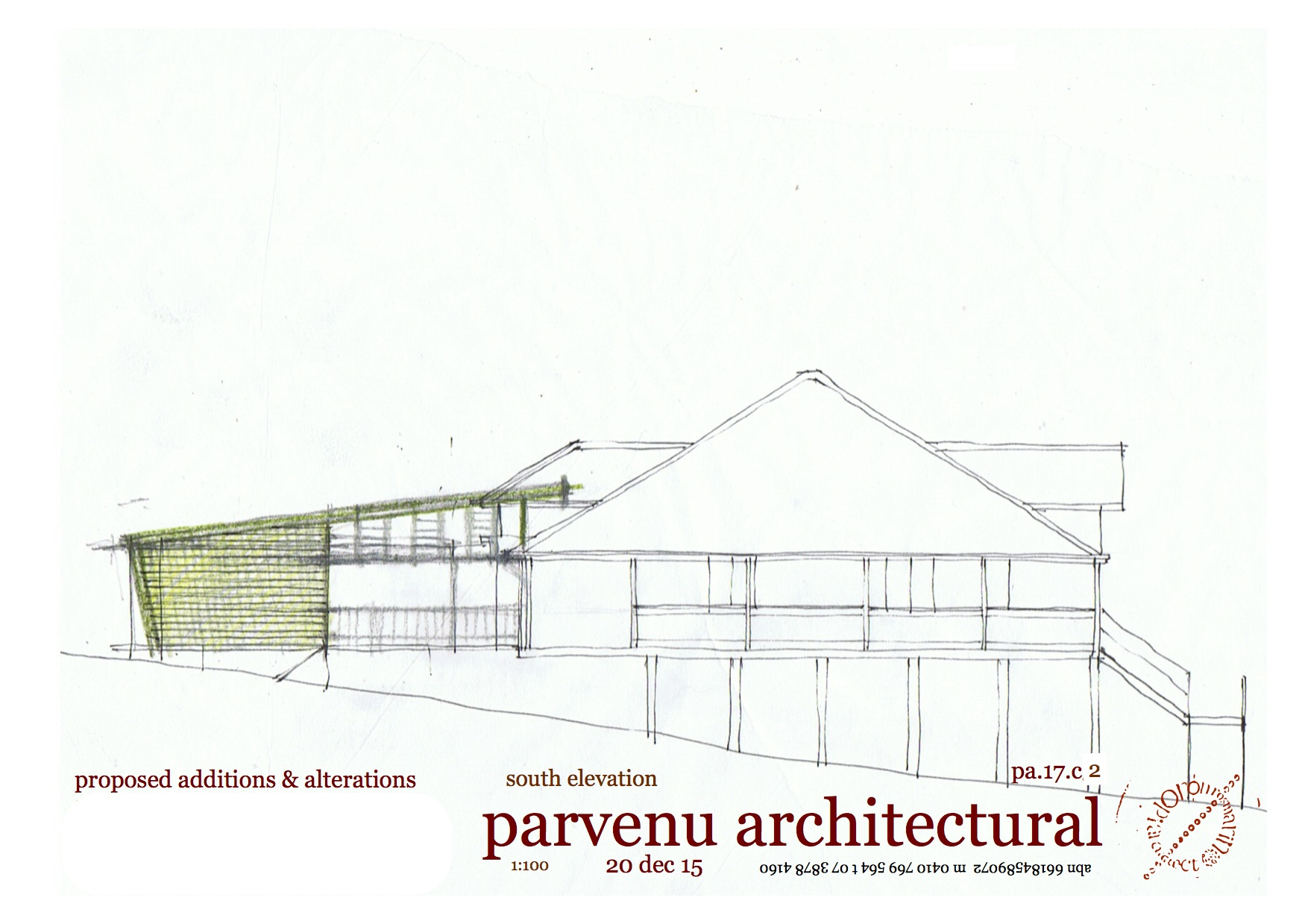 concept sketches elevation