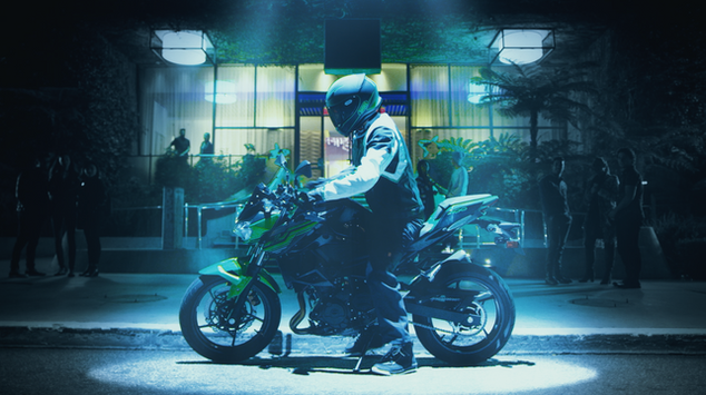 SPOTLIGHT –– Kawasaki Z400 Commercial