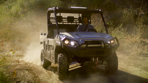 LIKE A BOSS –– Kawasaki Mule Family Ad Spot