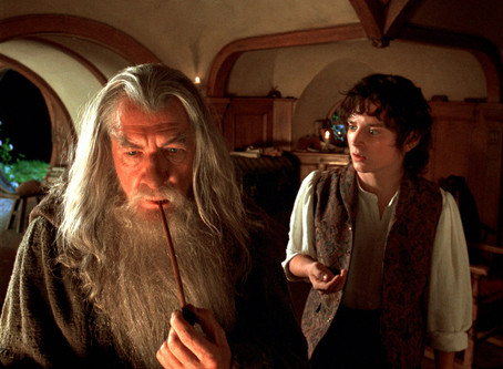 Scene Punctuation in THE FELLOWSHIP OF THE RING
