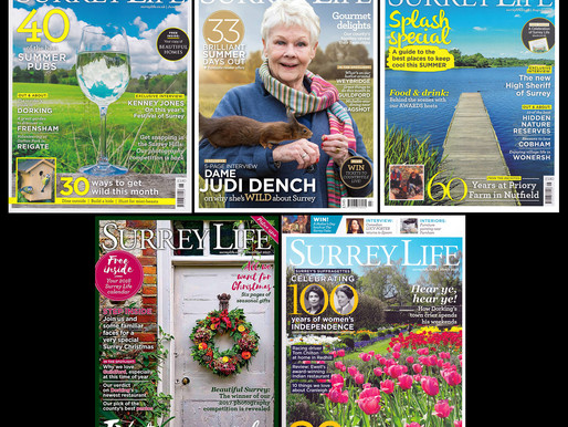 Surrey Life Covers and a read!