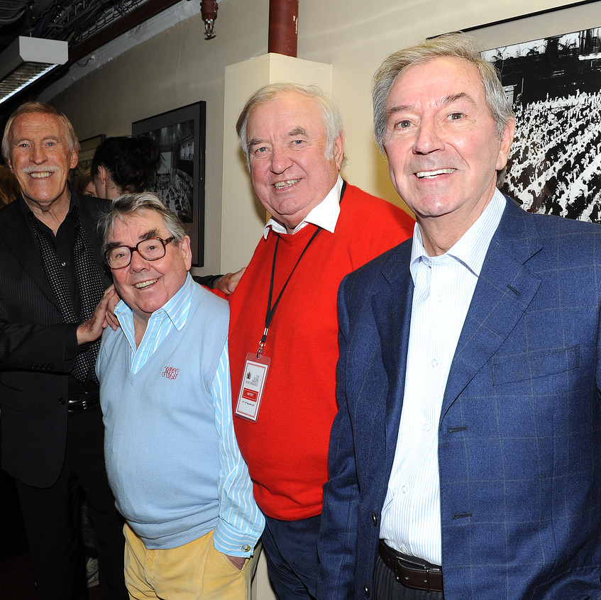 I love this picture of four UK legends who were chatting about golf backstage - they don't make em like that anymore. So sad to have lost Ronnie & Bruce.
