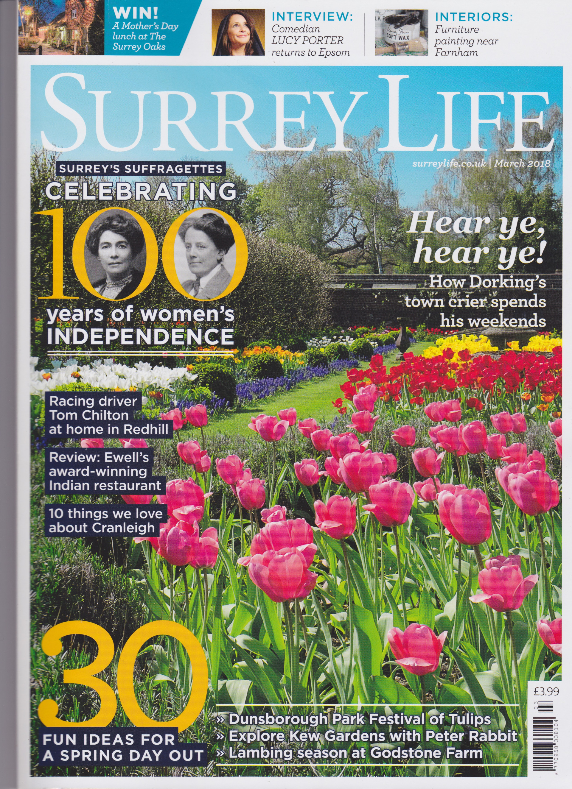 Surrey Life Cover - March 2018