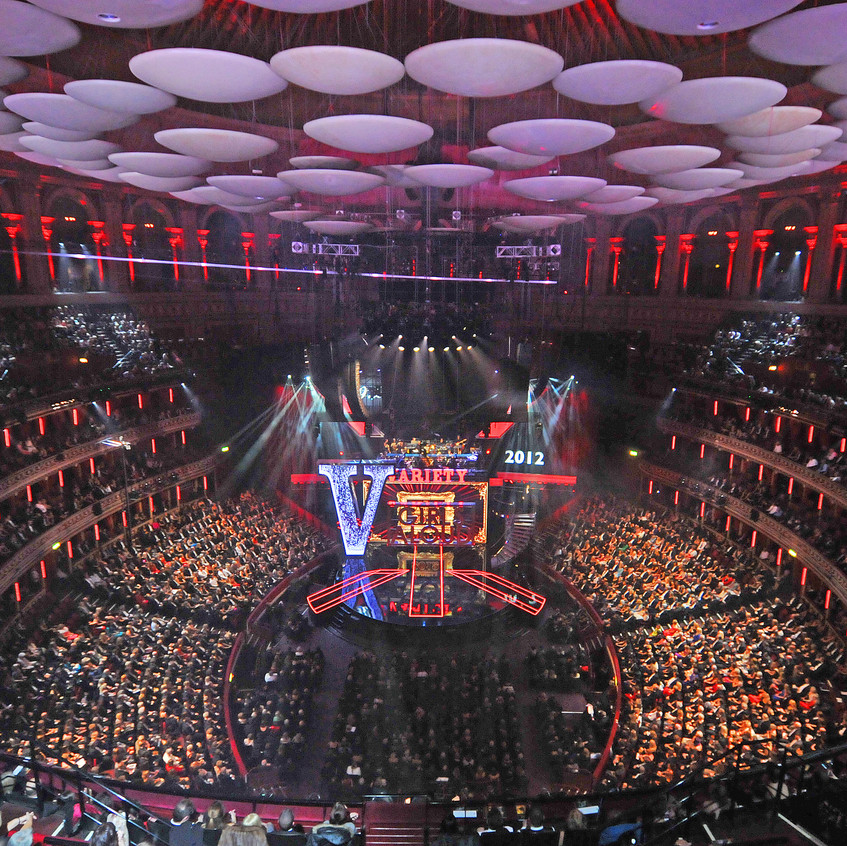 Since 2010 I have been the Official Photographer of the Royal Variety Charity and every year I cover the Royal Variety Performance - a great honour to be part of such a British Institution