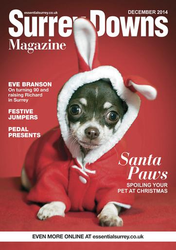 Surrey Downs Magazine cover - Queenie!