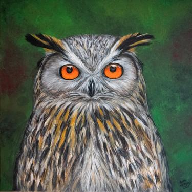 Eddie the Eagle Owl