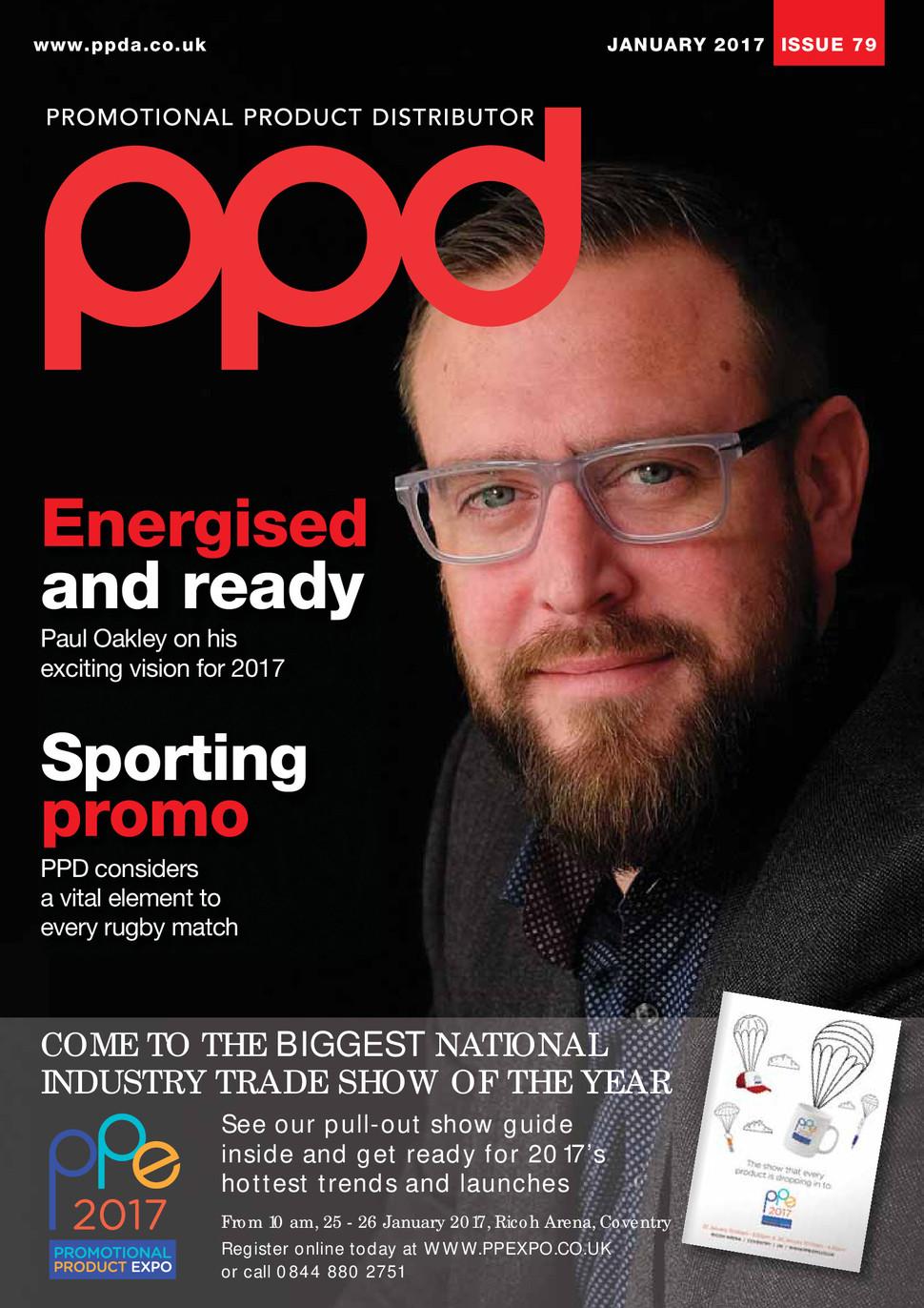 PPD Magazine - (Trade) Cover