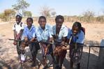 Hand washing facilities in Misundu