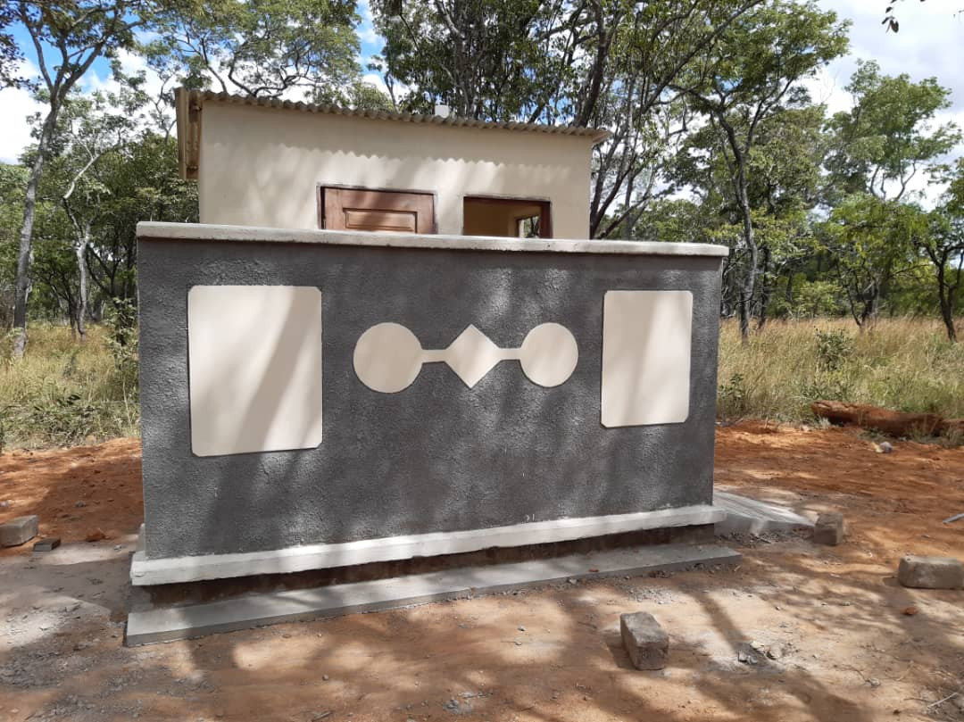 COMPLETED TOILET BLOCK