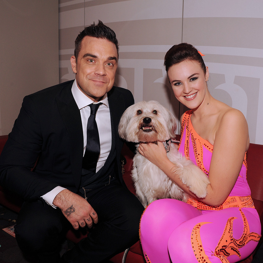 2012 and I got this exclusive of Robbie Williams and the winners of BGT in his dressing room. I have met Robbie several times and we always have a bit of stoke banter going on!