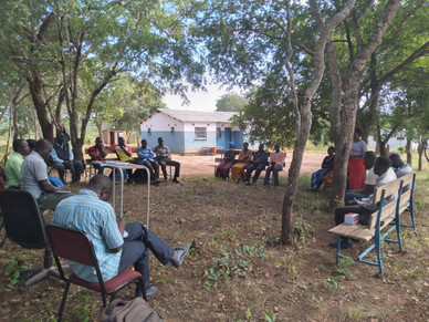 Community meeting.
