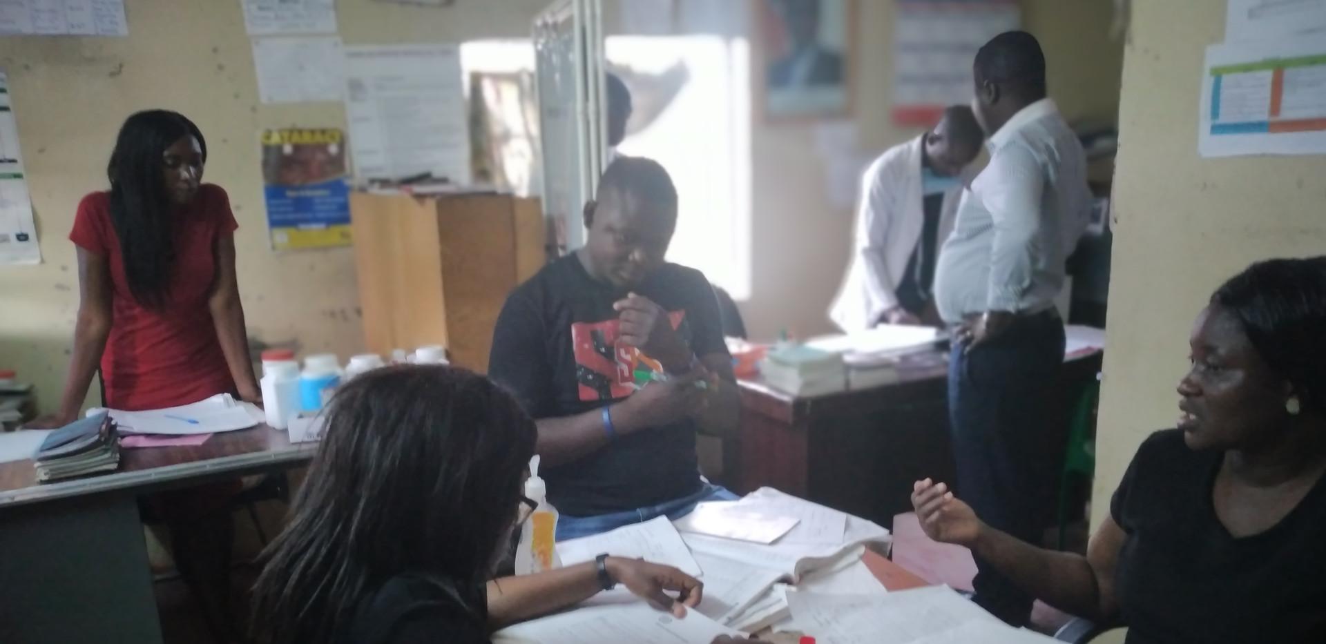 Health Officer Visits 5