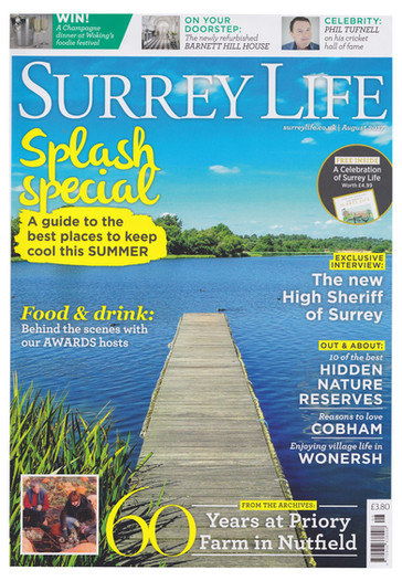 Surrey Life Cover Aug 2017 lead intervie