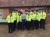 police cadets OFS (Photo by Chloe Biddel
