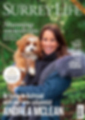 SL Cover Feb20 Andrea McLean & Teddy.jpg
