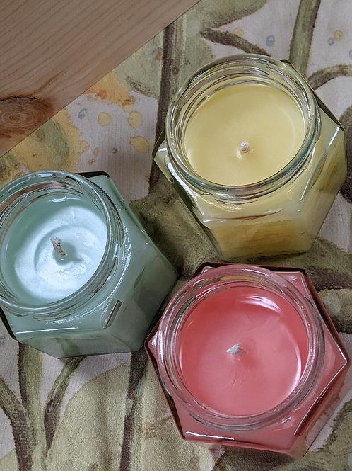 Beez' Bulb Candle 4 oz. Hex Jar