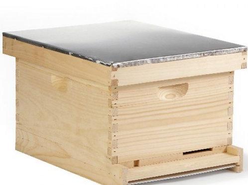 Complete 10 Frame Hive Setup