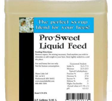 Liquid Bee Feed