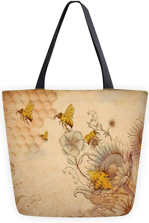 Bee Tote - Canvas XL
