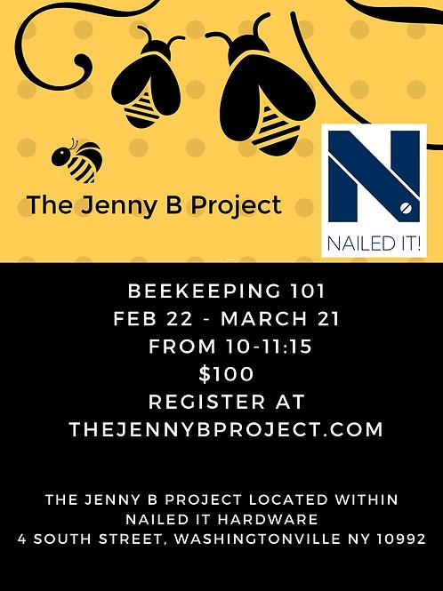 Beekeeping 101 - Saturdays 2/22-3/21