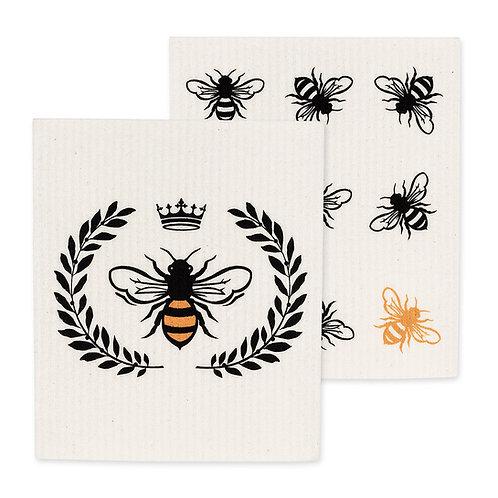 Bee Dish Cloth - 2 pc.