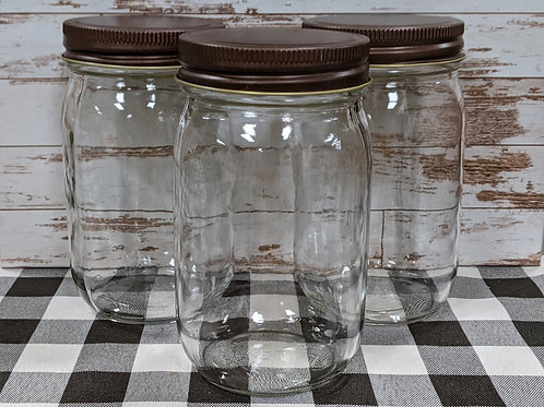 Quart Jars - 12 pc